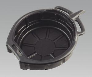 SEALEY DRP03 ENGINE OIL OR FLUID DRAIN PAN 17 LITRE CAPACITY OIL CHANGE