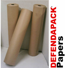 900mm X 200m MF Brown Ribbed Imitation Kraft Wrapping Paper Roll Rolls 90gsm