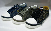 Mens Canvas Sneakers Lace Up Casual Jeans Shoes Fashion Stone-Washed, Size: 7-12