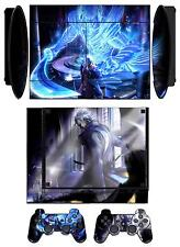 Skin Sticker PS3 PlayStation 3 Super Slim & 2 controller skins Devil May Cry Q09