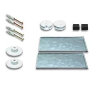 verdeckte Spiegelaufhängung , Spiegelhalterung bis 1,6 qm, Safeclix 16