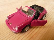 Porsche 964 911 C2/4 Cabriolet magenta lila 1:43 NZG Nr.350 neu-mint ohne OVP
