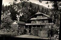 Tabarz Thür. Wald Hotel Pension Schweizerhaus Ansichtskarte Postkarte AK PK