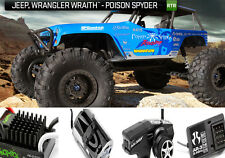Axial Wraith Jeep Wrangler Poison Spyder Rock Racer RTR AX90031