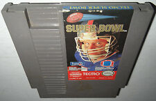 Nintendo NES Game TECMO SUPER BOWL! Cleaned&Tested Super Fun Football Action