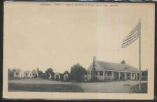 Postcard WILTON Maine/ME  Felix Tourist Motel Motor Court Cabins 1930's