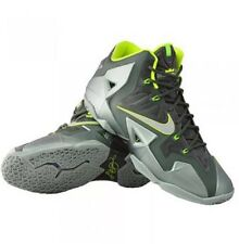 NIKE LEBRON XI DUNKMAN BASKETBALL KING JAMES MICA GREEN SPARK GREEN NEON VOLT 10