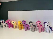 "My Little Pony Plush 6"" lot of 8"