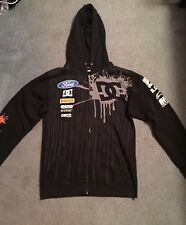 DC Monster Energy Block Hoodie 43  Ford Alpine Zipper Hoodie Black - Small