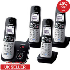 Panasonic KX-TG6824EB Quad DECT Cordless Phone- Speakerphone & Answerphone