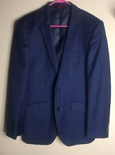 Linea Uomo Navy Blue Men's Sport Coat Blazer Sz 37 Regular