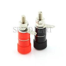 A Pair Js 910b Amplifier Terminal Connector Binding Post Speaker Black Amp Red