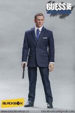 BLACKBOX TOYS 1/6 Daniel Craig James Bond 007 BB9002 Azul Traje para DRAGON DID