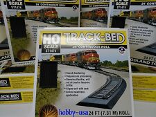 Woodland Scenics  HO ST1474  TRACK-BED ROADBED 24' ROLL NIB WOO1474-NEW