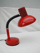 lampe de bureau plastique et métal laqué style Aluminor vintage des années 70