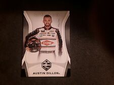 2020 PANINI CHRONICLES RACING AUSTIN DILLON LIMITED CARD #1/1... TRUE ONE OF ONE