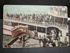 Excursion Boat CETUS Naval Cover unused postcard CONEY ISLAND, NY