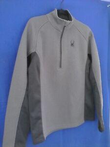 SPYDER Half-Zip Sweater Style 162004 Men's Medium Ski Snowboarding Pullover