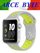 APPLE WATCH 38mm * SERIE 2 NIKE + * FATTURABILE * WATER RESISTENT - SILVER VOLT