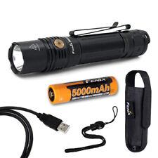 Fenix PD36R 1600 Lumen Rechargeable Tactical Flashlight & Fenix 21700 Battery