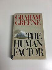 The Human Factor ... Graham Greene HCDJ 1978 1st US Trade Edition
