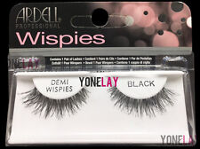 Lot 4 Pairs GENUINE ARDELL Demi Wispies False Eyelashes Fake Lashes Black Wispy
