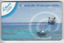 NOUVELLE CALEDONIE TELECARTE / PHONECARD .. 1000F LIBERTE BATEAU CABLIER 12/2011