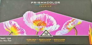 Prismacolor Premier 150 Hardly Used Coloured Pencils Colouring Complete Set