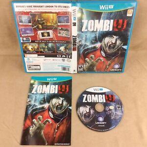 Nintendo Wii U Zombi U with Manual - Tested & Working ZombiU