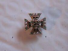 Tau Omega Fraternity Pin w/Gems Old 10k Solid Gold Alpha