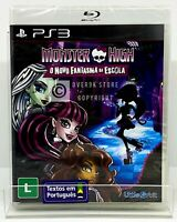 Monster High: New Ghoul in School - PS3 - New   Region Free   Portuguese Cover