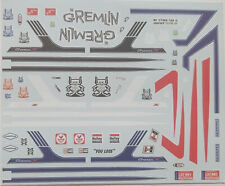 AMT 1976 AMC Gremlin 1:25 Scale Decals