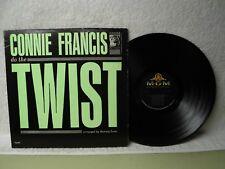 Connie Francis LP Do The Twist NM Near Mint 1962 Mono Orig! Mr Twister