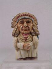 Harmony Kingdom/Ball Pot Bellys / Belly 'Chief Joseph' #Pbhcj Retired New In Box