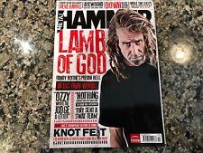 Metal Hammer Magazine! October 2012 Lamb Of God Steve Harris Papa Roach