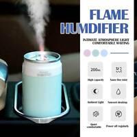 USB Car LED Aroma Diffuser Home Air Purifier Essential Humidifier