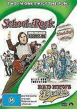 SCHOOL OF ROCK + BAD NEWS BEARS - 2 x DVD