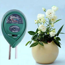 3 in 1 PH Tester Soil Water Moisture Light Test Meter for Garden Plant Flower ..