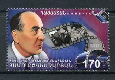 Armenia 2017 MNH Hamo Beknazarian Film Director 1v Set Cinema Movies Stamps