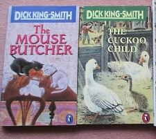 The Cuckoo Child,& Mouse Butcher  Dick King-Smith Vintage PB illus