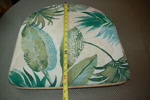 PIER ONE Tropical Chair Seat Pad Indoor Outdoor Garden Summer Patio Cushion
