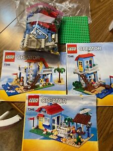 LEGO Creator Seaside House (7346)~3 in 1 Playset~Beach House~Boy or Girl