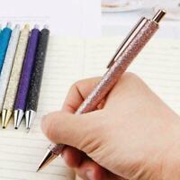 Luxus Bling Metall Kugelschreiber Glitter Ölfluss Stift Q6S0 Hübsch Büromat S7E8