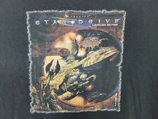 Vintage 1998 Alternity Star Drive Video Game Shirt Men's Size XXL Black Gen Con