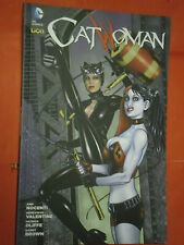 CATWOMAN- N° 10-VARIANT COVERS HARLEY QUINN-:ANN NOCENTI- LION DC COMICS- nuovo