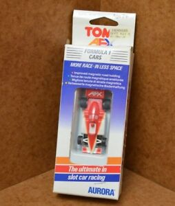 Rare boxed Tomy AURORA AFX F1 car for Tyco, Micro Scalextric HO tracks