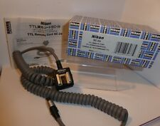 Nikon SC-24 TTL Flash Cord Cable for F4 F5 when used with DW-30 DW31 Finders