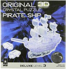 3D CRYSTAL PUZZLE - PIRATE SHIP - BRAND NEW - 30966