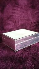 Mother Of Pearl And Silver Style Trinket Box