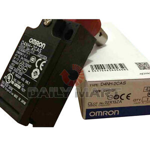 Brand New Omron D4NH-2CAS Safety Door Hinge Switch Programmable Logic Controller